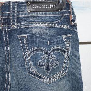 Rock Revival Adele womens jeans size 27 long